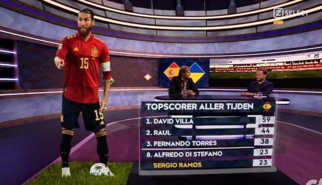 ◆記録◆マドリーのスペイン代表DFセルヒオ・ラモス、またも2Gで代表23G目!あのディ・ステファノに並び歴代8位