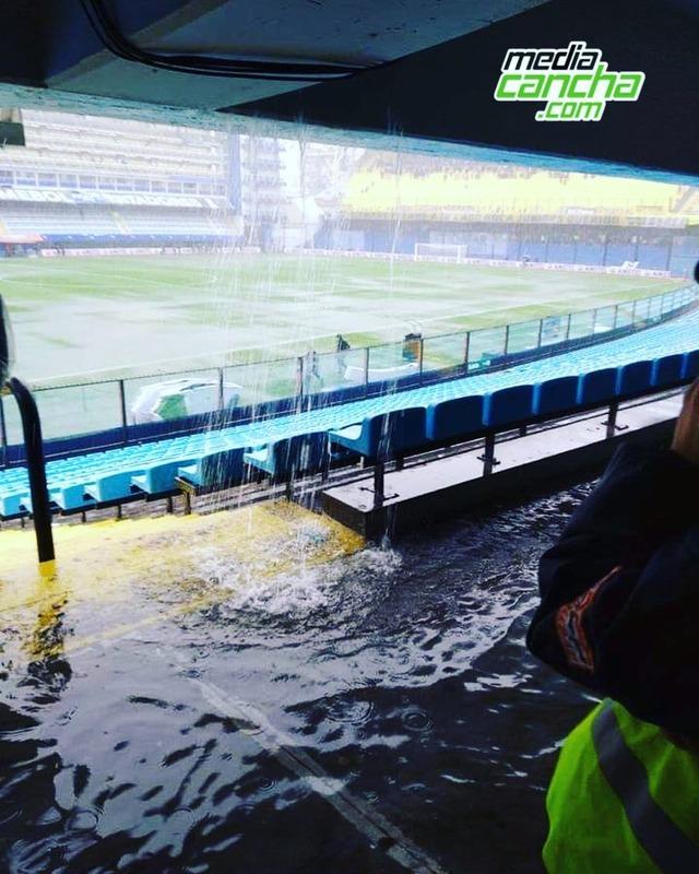 ◆南米◆ほとんど滝!大雨で中止になったリベルタドーレス杯会場ボンボネーラが大変なことになっていると話題に!