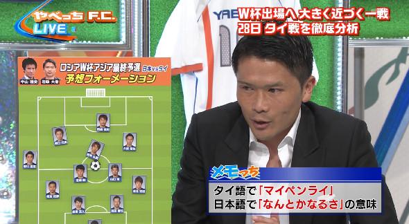 ◆日本代表◆やべっちFC岩政&中山予想スタメン トップ下清武、1Top岡崎の4231