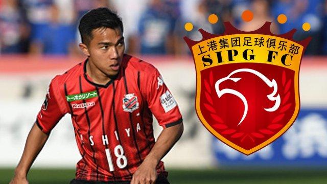 ◆J移籍◆札幌のタイ代表MFチャナティップにACL常連中国超級上海上港からオファー