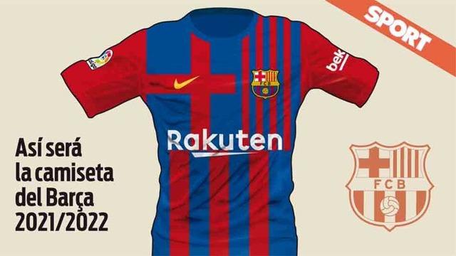 ◆リーガ◆早すぎ!?来シーズン(21-22)のFCバルセロナの新1stユニのデザインがリークされる