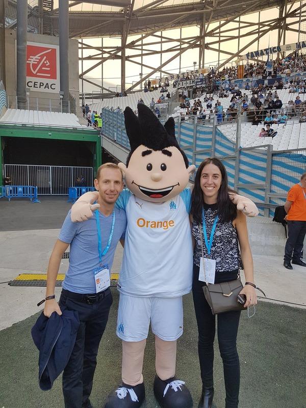 ◆画像◆オリンピック・マルセイユのマスコットのなんとも言えない感じは異常