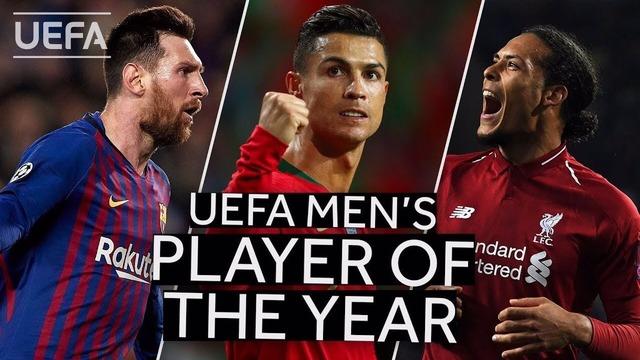 ◆UEFA◆UEFA年間最優秀選手賞TheBest候補上位3選手が発表…メッシ、C・ロナウド、そしてファン・ダイク