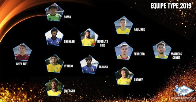 ◆朗報◆トゥーロン国際ベスト11にU22日本代表から相馬、椎橋、田中碧の三名選出!最多はブラジルの6名