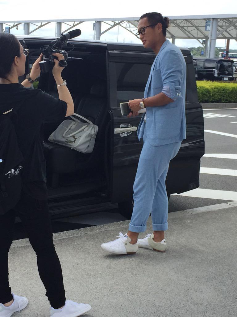 ◆J小ネタ◆静岡上陸した清水新加入FW鄭大世のファッションがチョイ胡散臭いと話題に!