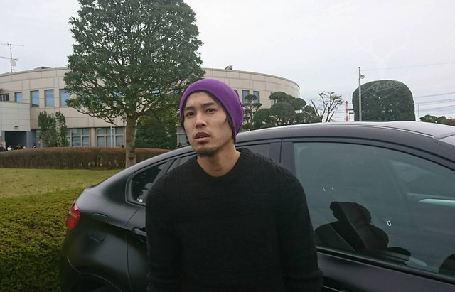 ◆画像◆一時帰国で鹿島を訪れた内田篤人さん、ちょっとヤサグレて藤春っぽくなってると話題に!