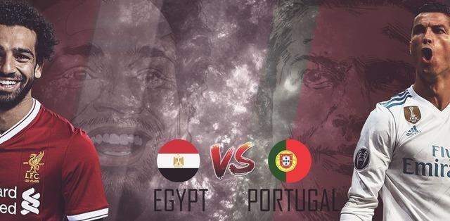 ◆親善試合◆ポルトガル×エジプト エジプトサラー弾で先制も後半ATだけでクリロナ2発!ポルトガル逆転勝利