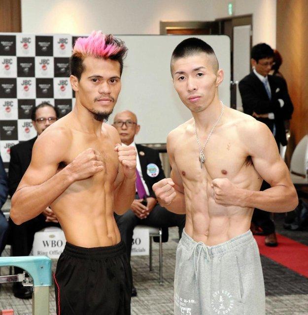 ◆画像◆ボクシング世界王者山中竜也の対戦相手が山口蛍似でワロタw