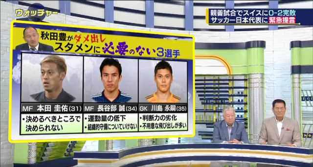 ◆代表小ネタ◆解説者クールヘッド秋田豊が俄然やる気を出していると話題に!