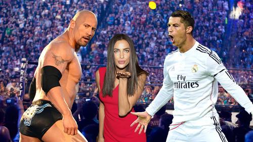 ◆リーガ◆クリロナ、WWE2K15でついにザ・ロックと対決!フィニッシュはDDTからの・・・