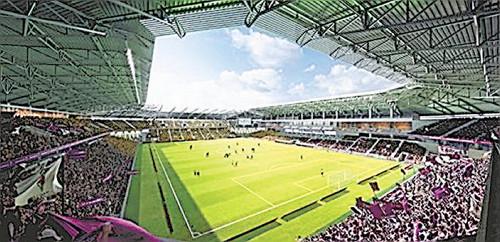 ◆朗報◆構想25年!プロ市民の妨害にもめげず!「京都亀岡球技専用スタジアム」ついに着工!