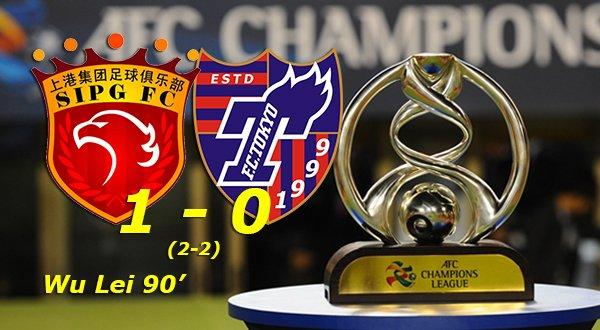 ◆ACL◆R16-2nd 上海上港×FC東京の結果 終了間際の失点でFC東京敗退