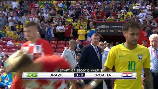 ◆速報◆ブラジル×クロアチアで後半からネイマール登場!実戦復帰!