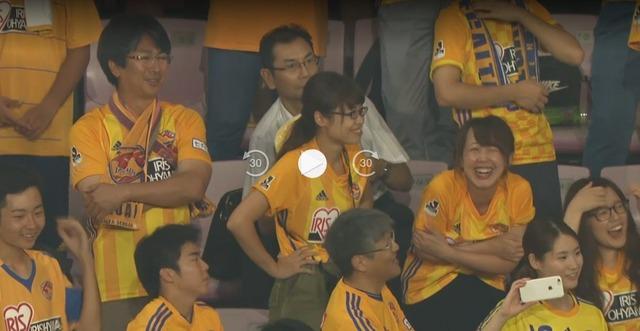 ◆悲報◆横浜FM戦8失点目直後のけさいサポ…笑うしかない模様(´・ω・`)
