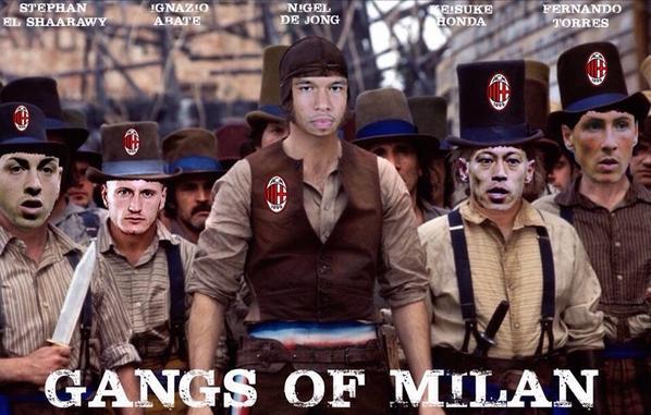 ◆ミラン本田◆イタリア人制作!ミラン新コラ登場!「GANGS OF MILAN」!!