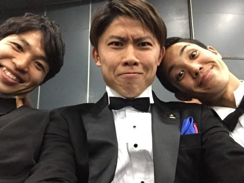 ◆Jアウォーズ◆FC東京Jベスイレ代表3人衆が奇面でパシャリ