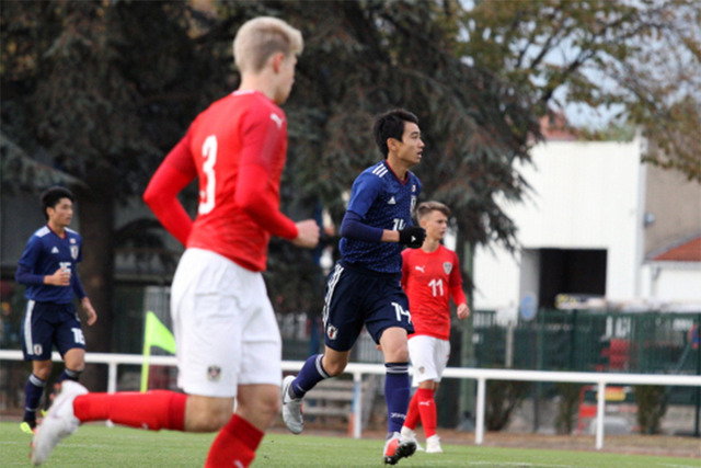 ◆U世代◆レアル中井卓大、世代別代表デビュー戦で活躍!途中出場から4分後にゴールの起点に