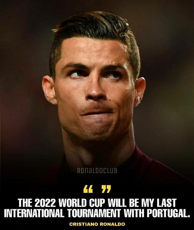 ◆速報◆クリスティアーノ・ロナウド、2022年カタールW杯での代表引退を発表!