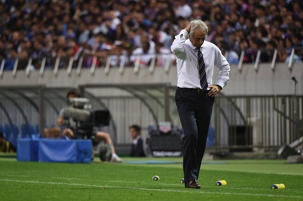 """◆日本代表◆いつから""""ロングボールを蹴り飛ばす""""チームになったのか?イラク戦49本のロングボールを蹴る"""