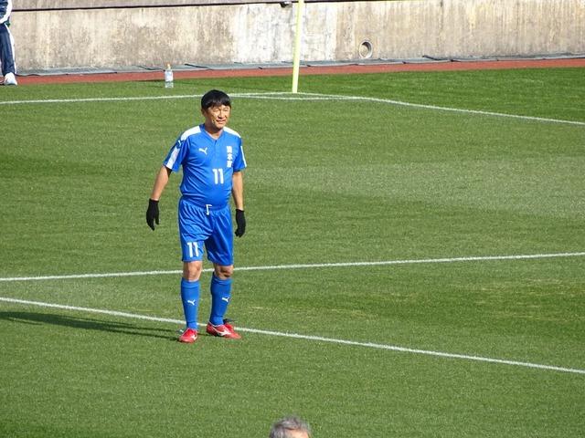 ◆画像◆サッカー解説者武田修宏がタケちゃんマンに寄せてきていると話題に!