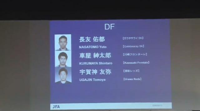 ◆日本代表◆宇賀神・車屋・遠藤航…数年前SB大国から気がついたら不安過ぎる日本代表のSB事情