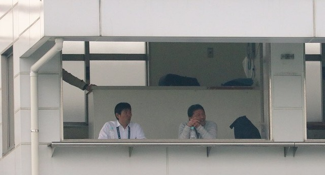 ◆画像◆視察で三ツ沢競技場を訪れた森保一日本代表監督の顔芸がイチイチ面白いと話題に!