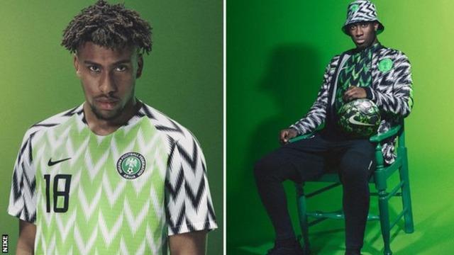 ◆ロシアW杯◆予約300万殺到!ナイジェリア代表ユニが人気爆発 英BBCも称賛「おしゃれウェア」
