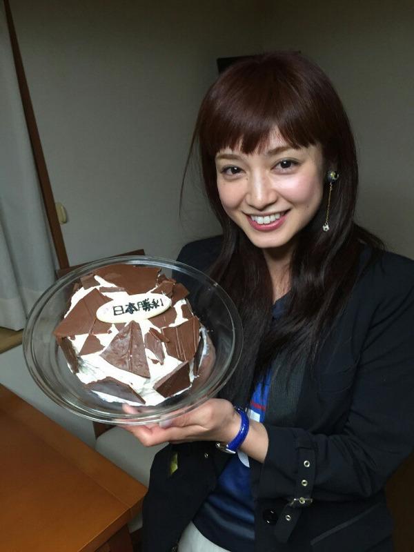 ◆悲報◆インテル長友のアモーレ手作りサッカーボールケーキの仕上がりが酷すぎると話題に!