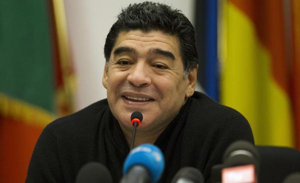 ◆FIFA会長選◆ディエゴ・マラドーナ FIFA会長選立候補へ-アルゼンチンのラジオ局有名記者報じる-