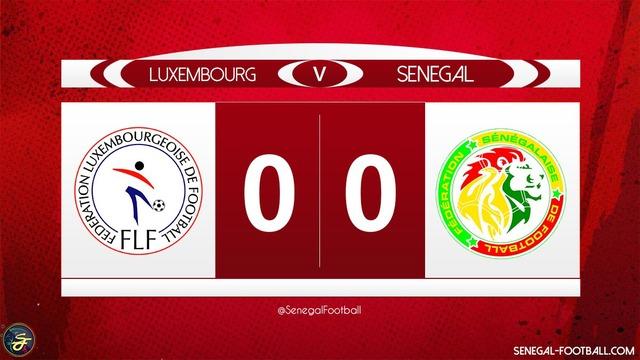 ◆親善試合◆日本と同組のセネガル…FIFAランク83位格下ルクセンブルク相手にスコアレスドロー(ハイライト)