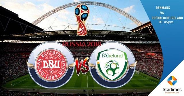 ◆W杯予選◆欧州PO デンマーク×アイルランド デンマーク圧倒も決めきれず、スコアレスドロー