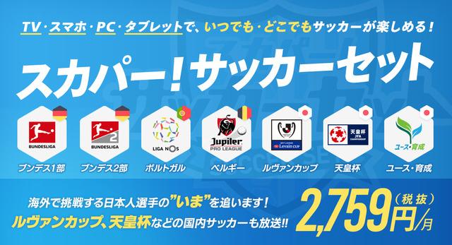 ◆悲報◆スカパーがまさかのサッカーセット構成を改悪!フル視聴なら7千円を超える実質値上げ(CL・EL見れないのに)