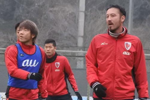 ◆Jリーグ◆京都移籍の田中マルクス闘莉王 早速猛ゲキ『もっと上がれー!』