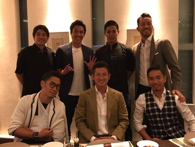 ◆画像◆オフのカズ会に出席した内田篤人がピザ化して別人だと話題に!