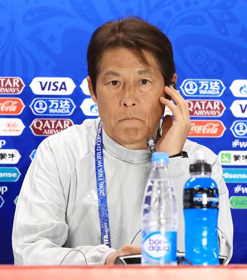 ◆朗報◆日本代表監督西野朗、ジョークを言う余裕ができる