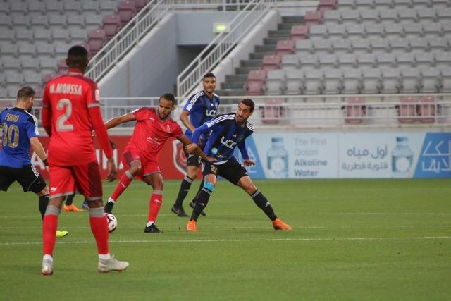 ◆悲報◆新翔さんの初試合アル・ドゥハイルの試合の観客席にほとんど生命反応なし!