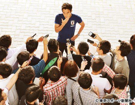 ◆代表小ネタ◆内紛!?「本田VS香川」主将・長谷部が仲裁  by 東スポ余裕