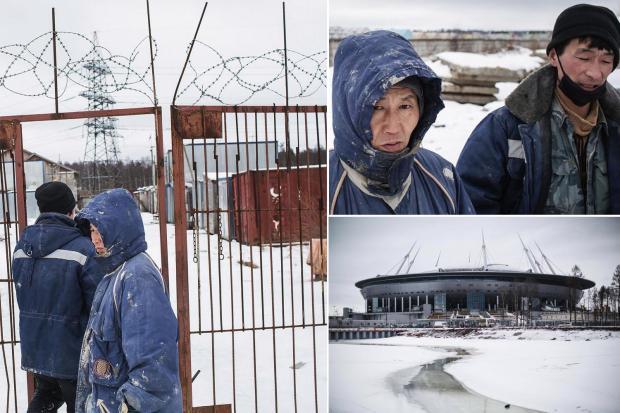 ◆ロシアW杯◆スタジアム建設で「北朝鮮人を奴隷のように…」英紙がロシアW杯の闇を衝撃レポート