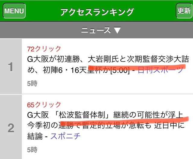 ◆J1◆G大阪の監督人事でスポニチvs日刊スポーツの場外乱闘勃発!?