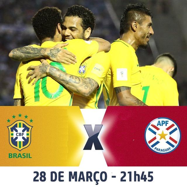 ◆W杯南米予選◆14節ブラジル×パラグアイの結果 やりたい放題ブラジル3発快勝で出場ほぼ決定