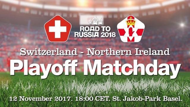 ◆W杯予選◆欧州PO-2nd スイス×北アイルランド 終盤決定機の山を決めきれずも1戦目の1点を守りきったスイスが11回目の出場決定!