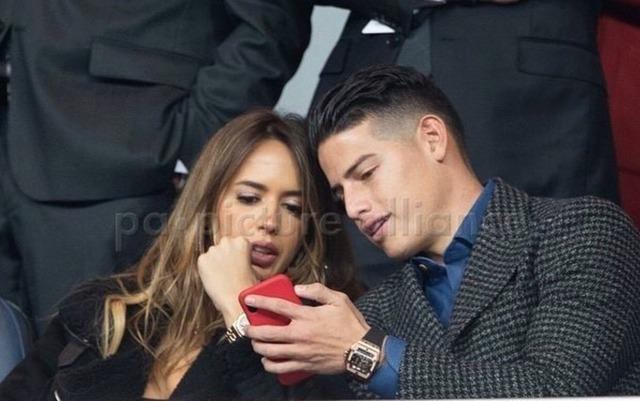 ◆ゴシップ◆ハメス・ロドリゲス、噂のダイナマイトな新彼女シャノン・デ・リマとリベルタドーレス決勝を観戦!