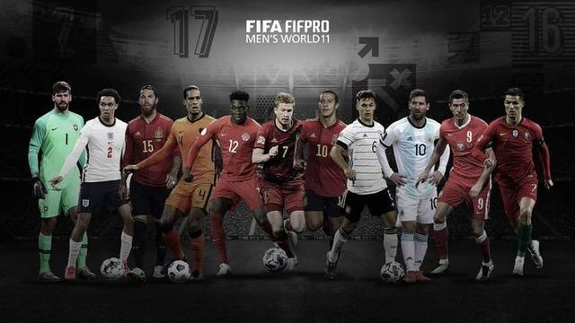 ◆FIFA◆The Best World 11 リバポ4人、バイアン3人、マンC・ユーベ・バルサ・マドリー1人ずつ