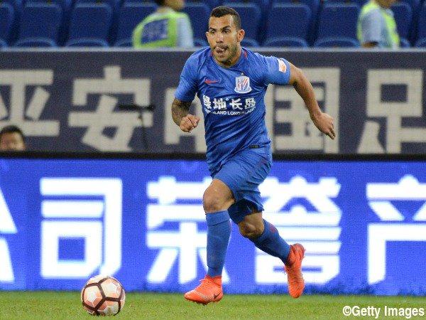 ◆悲報◆中国超級上海申花のカルロス・テヴェス、未だに体重オーバー