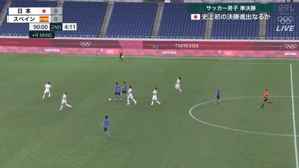 ◆東京五輪◆後半終了間際、堂安が引っ張られて止められたシーン、主審は止めたが流すべきだよな!