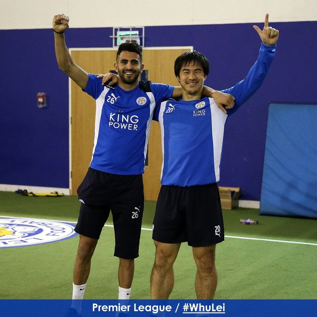 ◆画像◆岡崎慎司とマレズが肩組んで並んだ結果、岡崎の脹脛がマレズの倍以上の太さでワロタw