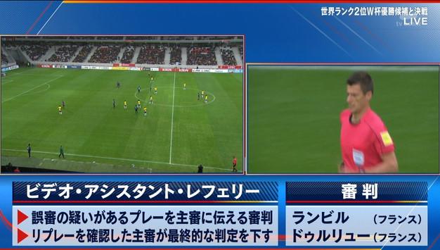 ◆親善試合◆日本×ブラジル 日本いきなりVARで吉田がPK取られ失点