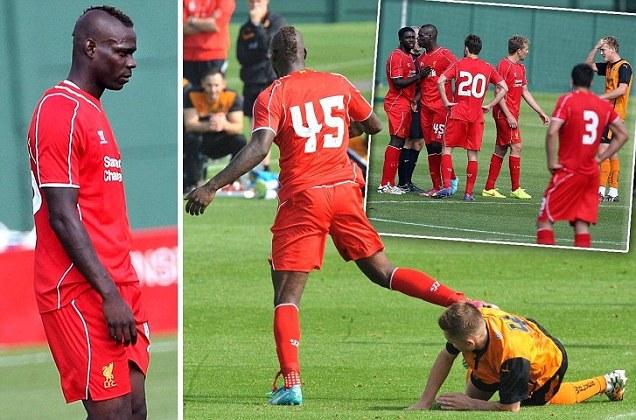 ◆悲報◆マリオ・バロテッリくん親善試合で相手に蹴り入れて頭突き?