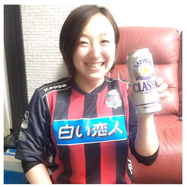 ◆画像◆カーリング五輪女子代表、藤澤五月ちゃんコンサドーレファンだった