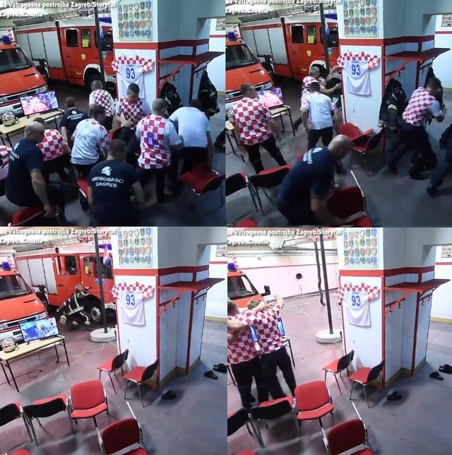 ◆W杯小ネタ◆準決勝イングランド戦観戦中に出動サイレンがなった直後のクロアチアの消防隊の動きが速すぎると話題に!